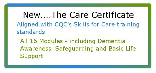 Care Certificate banner